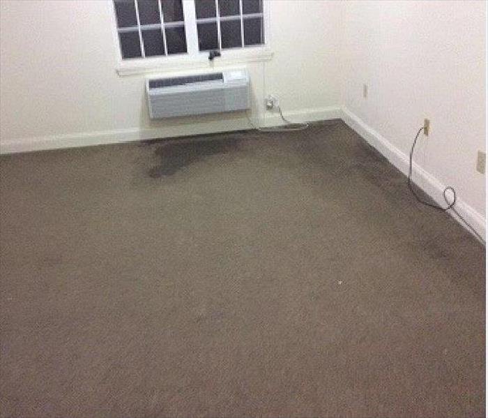 Assisted Living Home Water Damage Before