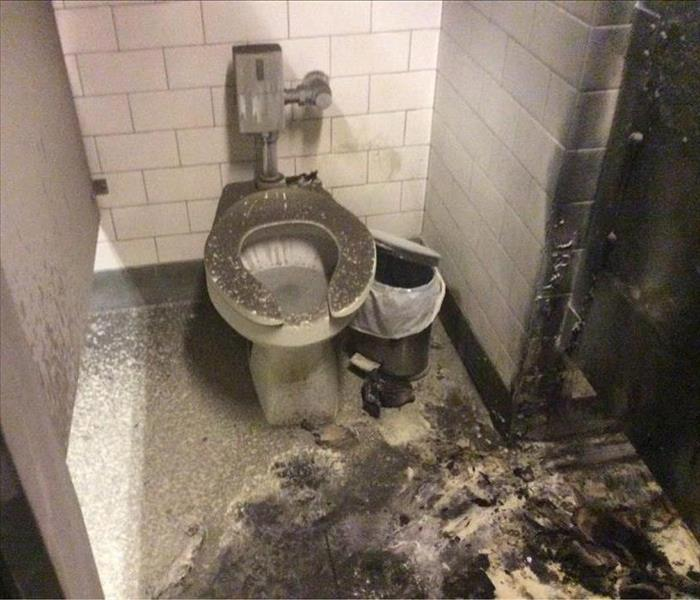 Restaurant Bathroom Fire