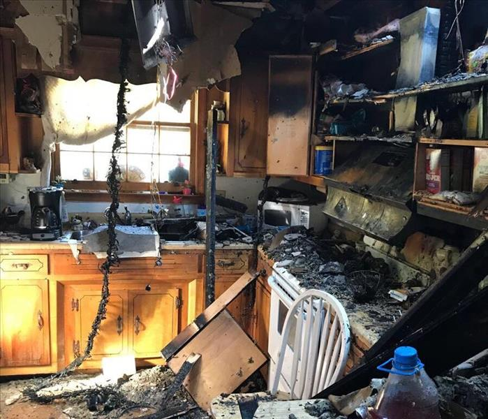 Kitchen Fire in Spartanburg, SC